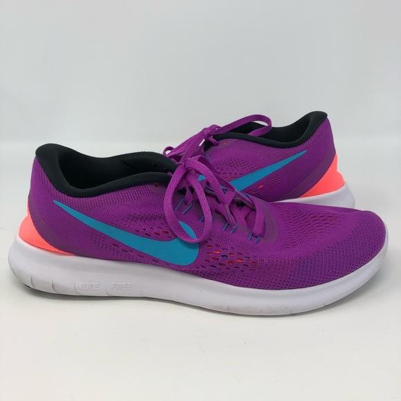 Nike Shoes Free Run Purple Neon OrangePoshmark Free Run Purple Neon Orange Poshmark